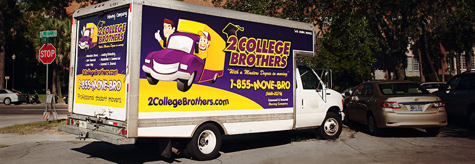 2 college brothers moving company florida