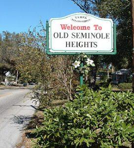 Seminole Heights neighborhood