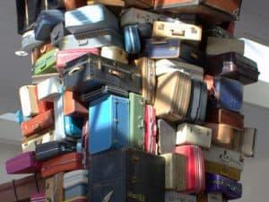 space saving ideas luggage