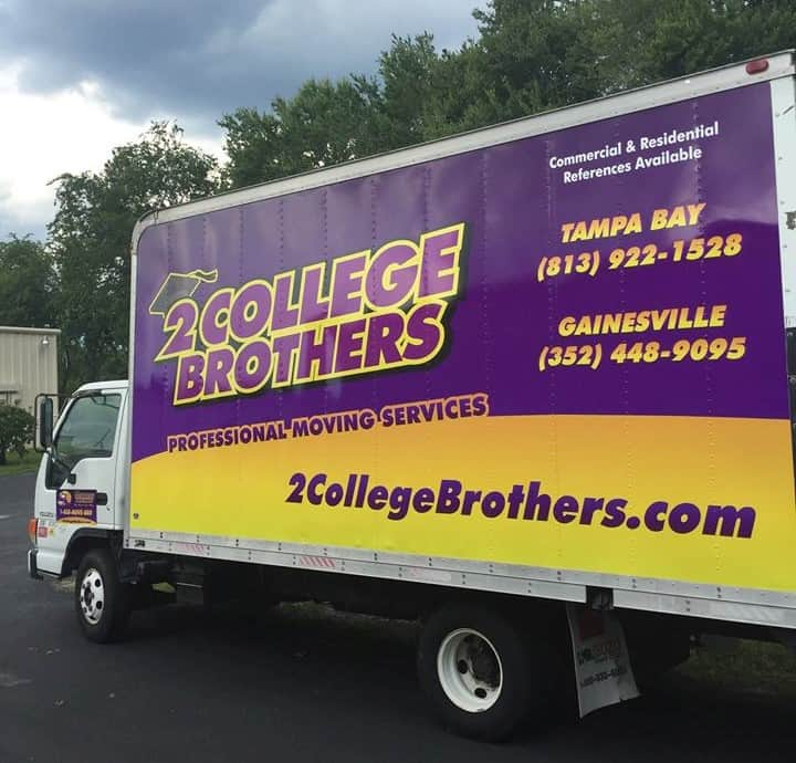 2 College Brothers - St. Petersburg Movers