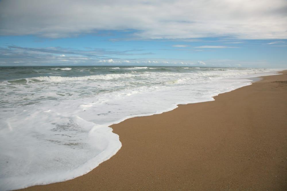 Florida beach in city of Apollo Beach